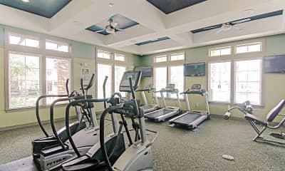 Fitness Weight Room, Oakleaf Plantation, 2