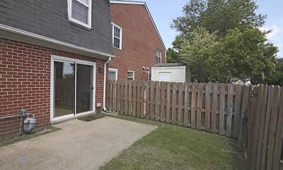 Patio / Deck, Crown Point Townhomes, 1