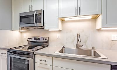 Kitchen, Parksquare Apartments, 1