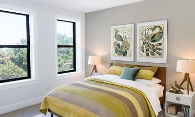 Bedroom, The Shoreland, 1