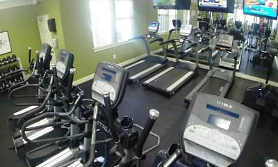 Fitness Weight Room, Arbor View D'iberville, 1