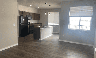 Kitchen, Parkside Apartments, 2