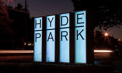 Community Signage, Hyde Park at Montfort, 2