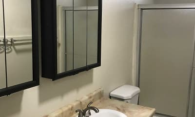 Bathroom, Cedar Park Apartments, 2