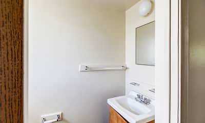 Bathroom, Midway Square Townhomes - Affordable, 2