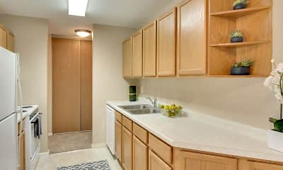 Kitchen, Medicine Lake Apartments, 0