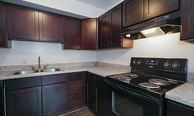 Kitchen, Kingsbridge Apartments, 0