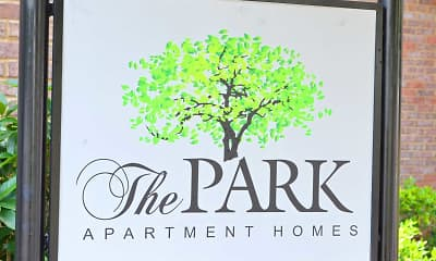 Community Signage, The Park Apartment Homes, 2