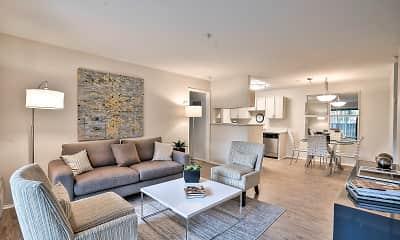 Living Room, Alvista at The Bridge, 1