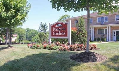Community Signage, Pompton Gardens, LLC, 2