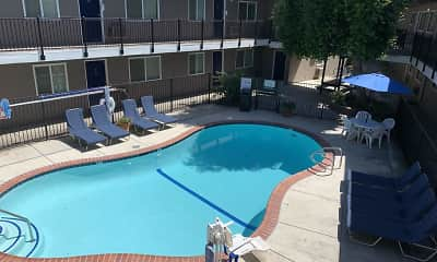 Pool, Pennsylvania Place Apartments, 0
