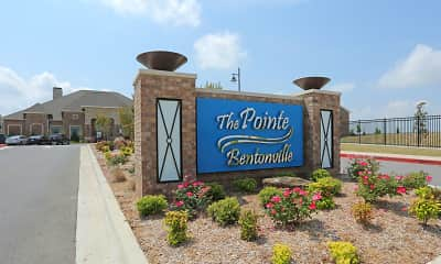 Community Signage, The Pointe at Bentonville, 2