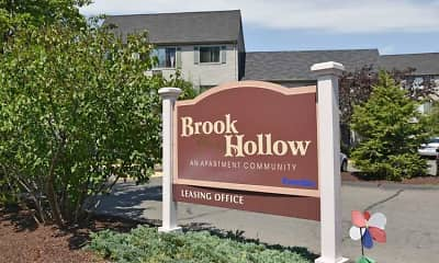 Community Signage, Brook Hollow Apartments, 0