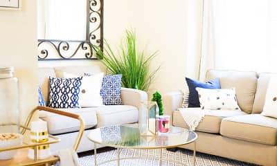 Living Room, Golden Valley Luxury Apartments, 0