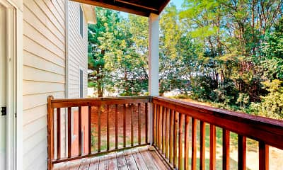Patio / Deck, Crescent Chase, 2