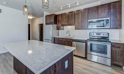Kitchen, Oaks Minnehaha Longfellow, 1