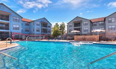 Pool, Campus Lodge - Per Bed Lease, 0
