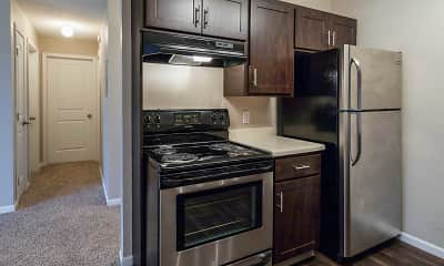 Kitchen, Camelot Square, 1