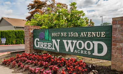 Community Signage, Greenwood Acres, 0