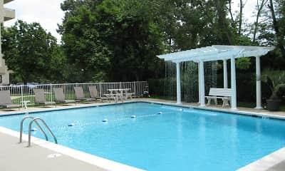 Pool, Royal Mace Apartments, 2