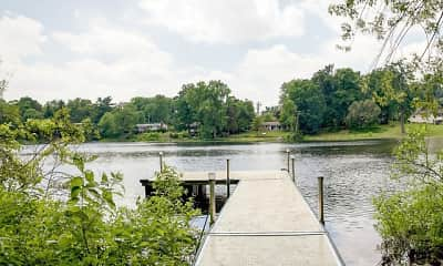 view of water view, Lake Forest Apartments, 2