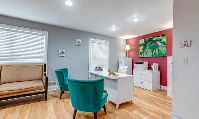 Living Room, Clifton Ridge Townhomes, 1