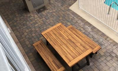 Patio / Deck, The Studio Apartments on 12th Street, 2