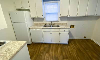 Kitchen, Rolling Hills Townhomes, 2