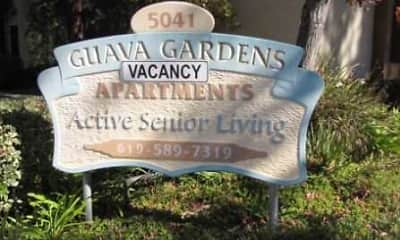 Community Signage, Guava Gardens- Senior housing, 2