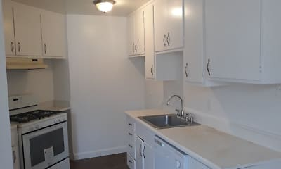 Kitchen, Orange Grove Apartments, 0