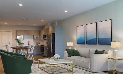 Living Room, Ace Flats, 2