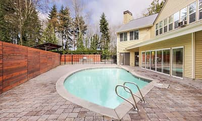 Pool, Maple Glen Apartments, 1
