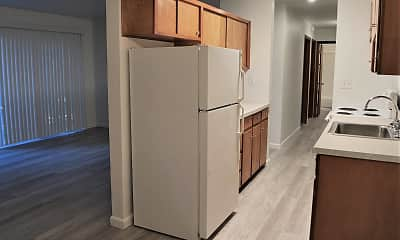 Kitchen, Edgemont Apartments, 0