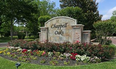 Community Signage, Chappell Oaks, 2