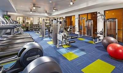 Fitness Weight Room, City Lights at Town Center, 2