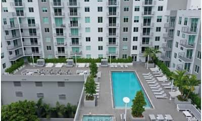Pool, Brickel West City Rentals, 0