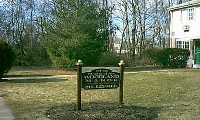 Community Signage, Woodland Manor, 1