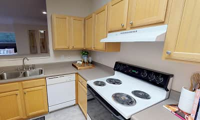 Kitchen, The Madison Apartments, 2
