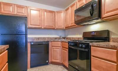 Kitchen, Brookstone Apartments, 1