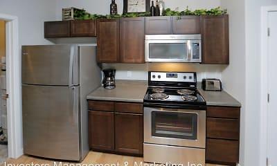 Kitchen, North Highlands Luxury Apartments, 1