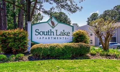 Community Signage, South Lake Apartments, 0
