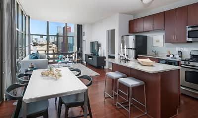 Kitchen, Astoria Tower, 0
