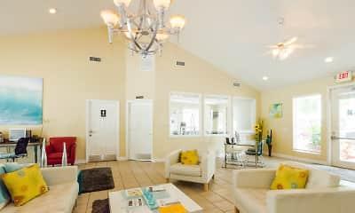 Living Room, Village Lakes At Lake Orlando, 0