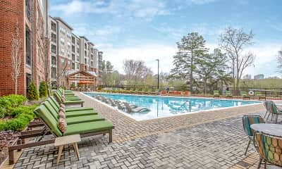 Pool, The District at Windy Hill, 0