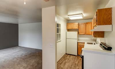 Kitchen, Greentree & Park Hill Apartments, 0