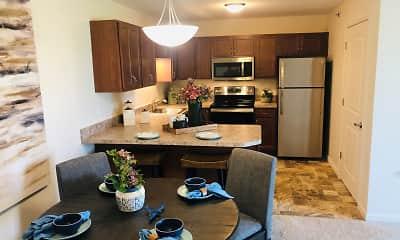 Kitchen, Simmons Crossing Senior Apartments, 1