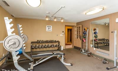 Fitness Weight Room, The Heights, 1