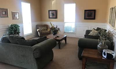 Living Room, Plantation Apartment Homes, 1