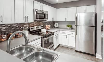 Kitchen, Grays Pointe Apartments, 0