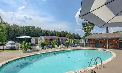 Pool, Landmark Apartments, 0